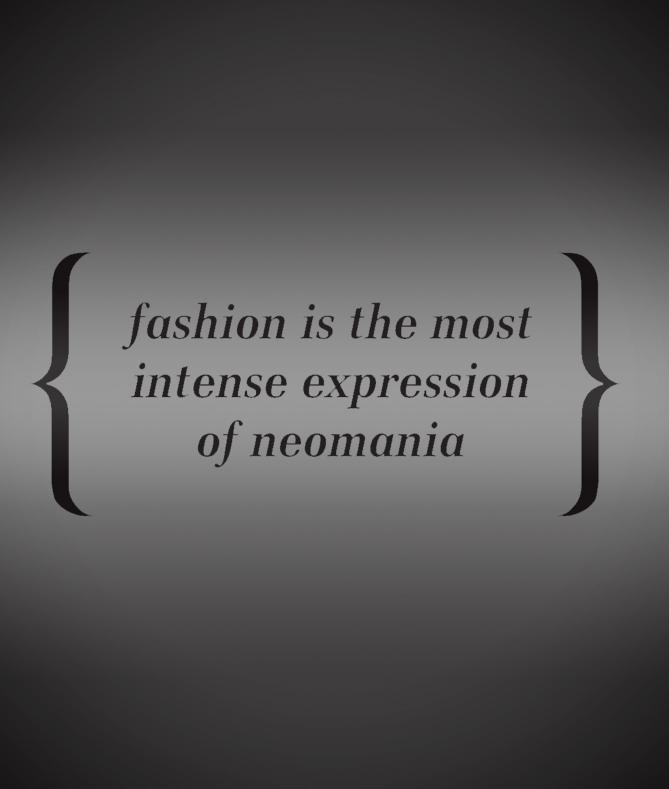 NEOMANIA IS FASHION